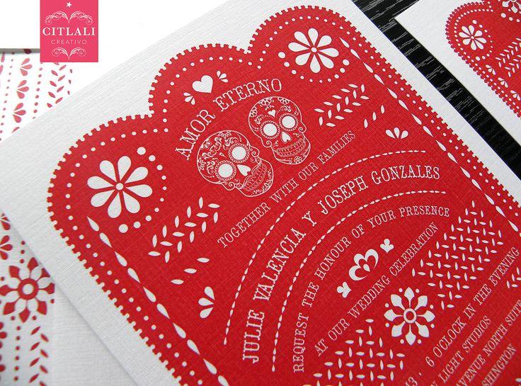 """El Día de los Muertos"""" Wedding Ideas - Latino Bride and Groom ..."""