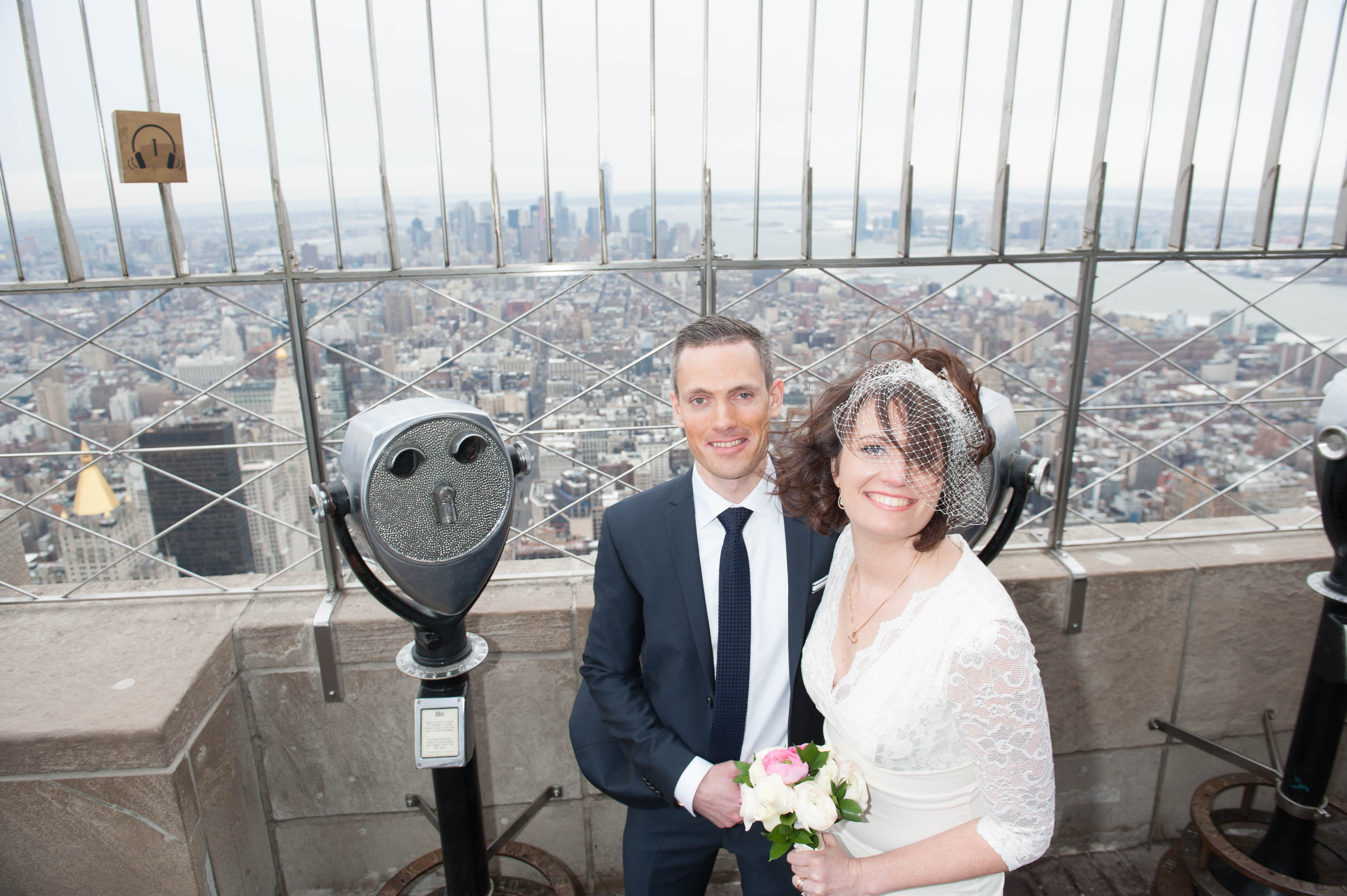 Empire State Building Hosts Valentine's Day Weddings