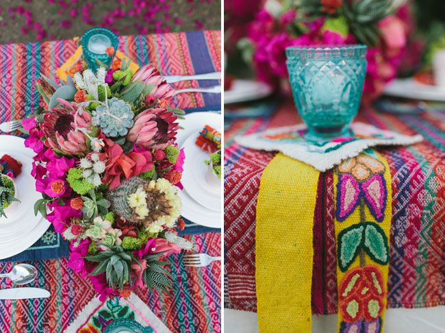 Mexican-Theme-Table