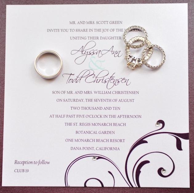 INVITATIONS - Latino Bride And Groom