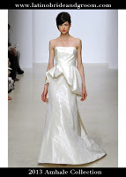 latino-bride-and-groom_peplum dresses Spring 2013 Collection, amhale copy
