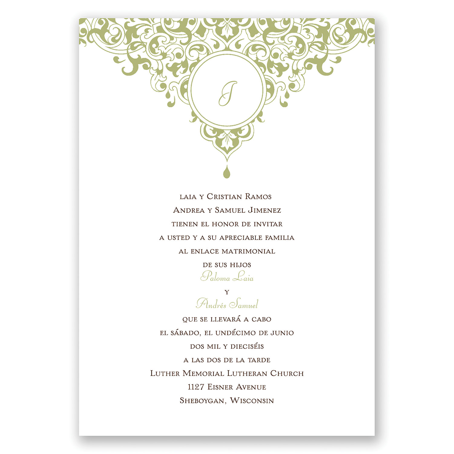 wedding invitation quotes in spanish - photo #23