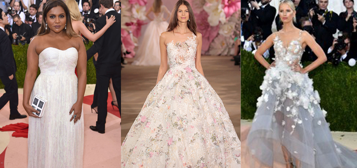 Bridal Inspiration From the 2016 Met Gala