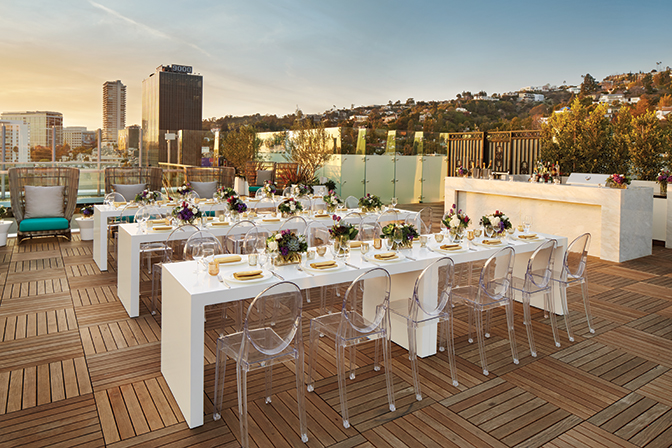 Brides And Grooms This Is Your Ideal Location To Hold Non Traditional Chic Intimate Wedding The London West Hollywood At Beverly Hills Boasts